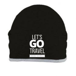 Шапка Let's go travel around the world