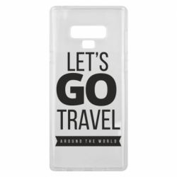 Чохол для Samsung Note 9 Let's go travel around the world