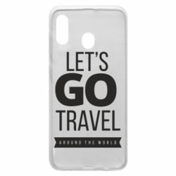 Чохол для Samsung A30 Let's go travel around the world