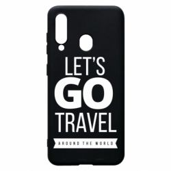 Чохол для Samsung A60 Let's go travel around the world