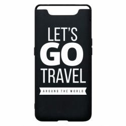 Чохол для Samsung A80 Let's go travel around the world