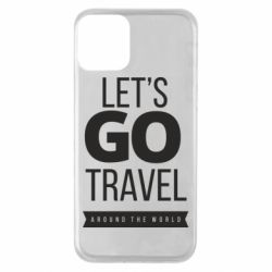 Чохол для iPhone 11 Let's go travel around the world