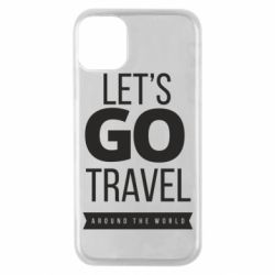 Чохол для iPhone 11 Pro Let's go travel around the world