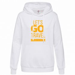 Толстовка жіноча Let's go travel around the world