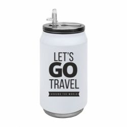 Термобанка 350ml Let's go travel around the world