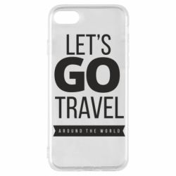 Чохол для iPhone 7 Let's go travel around the world