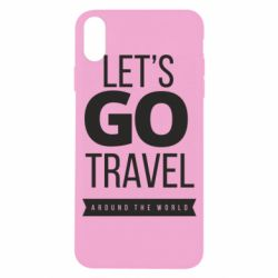 Чохол для iPhone X/Xs Let's go travel around the world