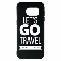 Чохол для Samsung S7 EDGE Let's go travel around the world