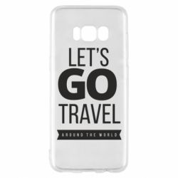 Чохол для Samsung S8 Let's go travel around the world