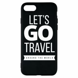 Чохол для iPhone 8 Let's go travel around the world