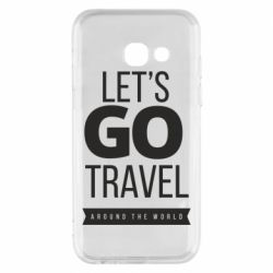 Чохол для Samsung A3 2017 Let's go travel around the world