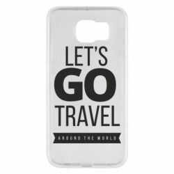 Чохол для Samsung S6 Let's go travel around the world