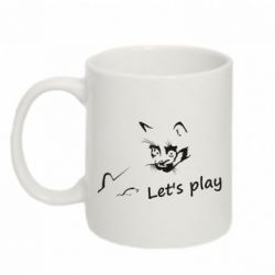 Кружка 320ml Let's play cat and mouse