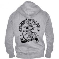 Чоловіча толстовка на блискавці Let's Ride Bike