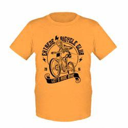 Дитяча футболка Let's Ride Bike