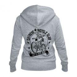 Жіноча толстовка на блискавці Let's Ride Bike