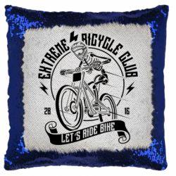 Подушка-хамелеон Let's Ride Bike