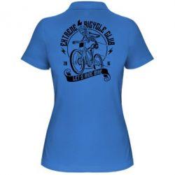 Жіноча футболка поло Let's Ride Bike