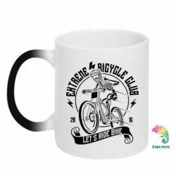 Кружка-хамелеон Let's Ride Bike