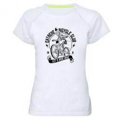 Жіноча спортивна футболка Let's Ride Bike