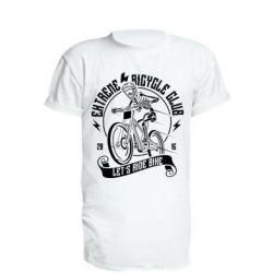Подовжена футболка Let's Ride Bike