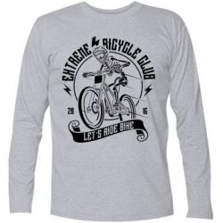 Футболка з довгим рукавом Let's Ride Bike