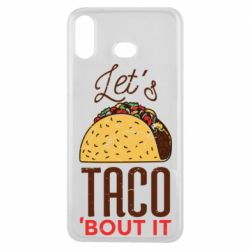 Чехол для Samsung A6s Let's taco bout it