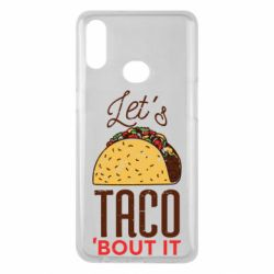 Чехол для Samsung A10s Let's taco bout it