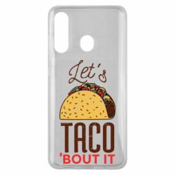 Чехол для Samsung M40 Let's taco bout it