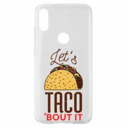 Чехол для Xiaomi Mi Play Let's taco bout it