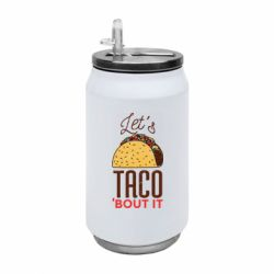 Термобанка 350ml Let's taco bout it