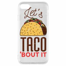 Чехол для iPhone 8 Let's taco bout it