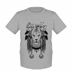 Детская футболка Лев Инди