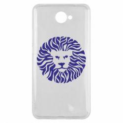 Чехол для Huawei Y7 2017 лев - FatLine