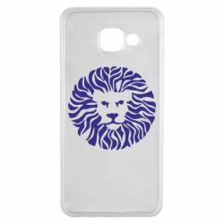 Чехол для Samsung A3 2016 лев - FatLine