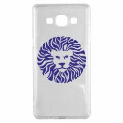Чехол для Samsung A5 2015 лев - FatLine