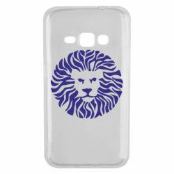 Чехол для Samsung J1 2016 лев - FatLine
