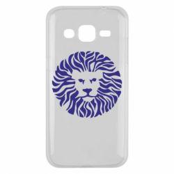 Чехол для Samsung J2 2015 лев