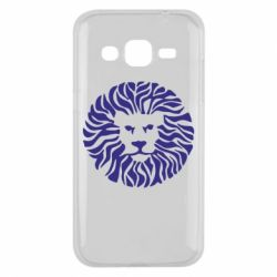 Чехол для Samsung J2 2015 лев - FatLine