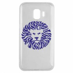 Чехол для Samsung J2 2018 лев