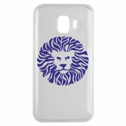 Чехол для Samsung J2 2018 лев - FatLine