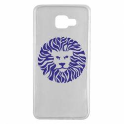 Чехол для Samsung A7 2016 лев - FatLine