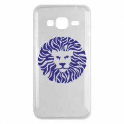 Чехол для Samsung J3 2016 лев