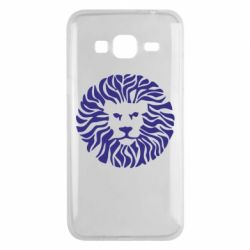 Чехол для Samsung J3 2016 лев - FatLine