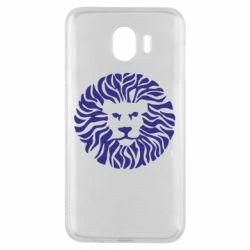 Чехол для Samsung J4 лев - FatLine