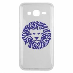 Чехол для Samsung J5 2015 лев - FatLine