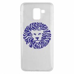 Чехол для Samsung J6 лев
