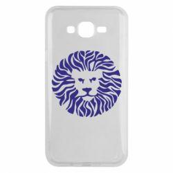 Чехол для Samsung J7 2015 лев
