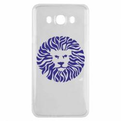 Чехол для Samsung J7 2016 лев