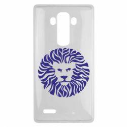 Чехол для LG G4 лев - FatLine